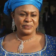 Aviation Minister, Princess Stella Oduah.