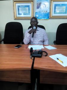 Professor Victor Peretomode, Vice Chancellor, Delta State University, (DELSU) Abraka.