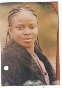 Elizabeth Aluka, the lady declared missing by police.