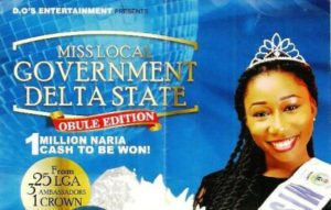 2016 Obule Edition of the Delta State Miss Local Government