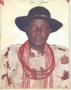 PICTURE OF LATE CHIEF DR. ALFRED BUBOR (JP)