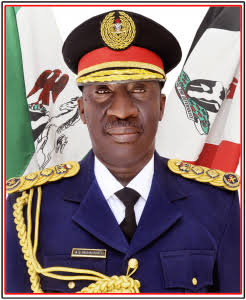 The Commandant- General Nigeria Security and Civil Defence Corps Abdullahi Gana Muhhamadu.